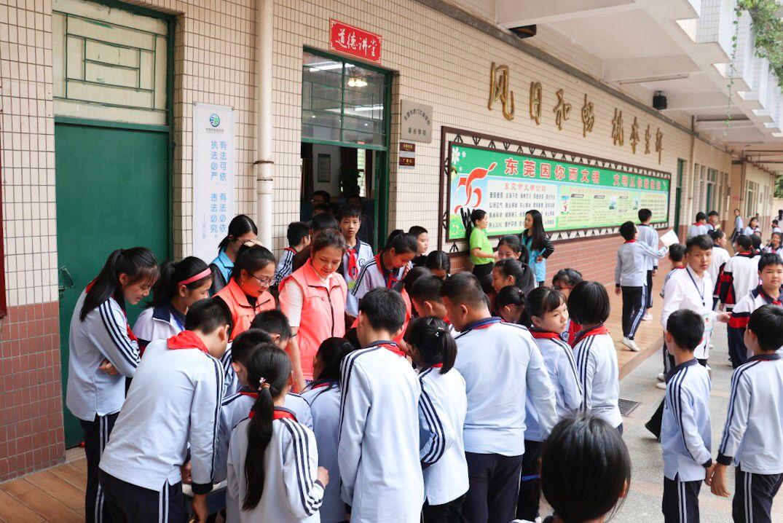 虎门禁毒宣讲团走进汇英学校宣讲活动