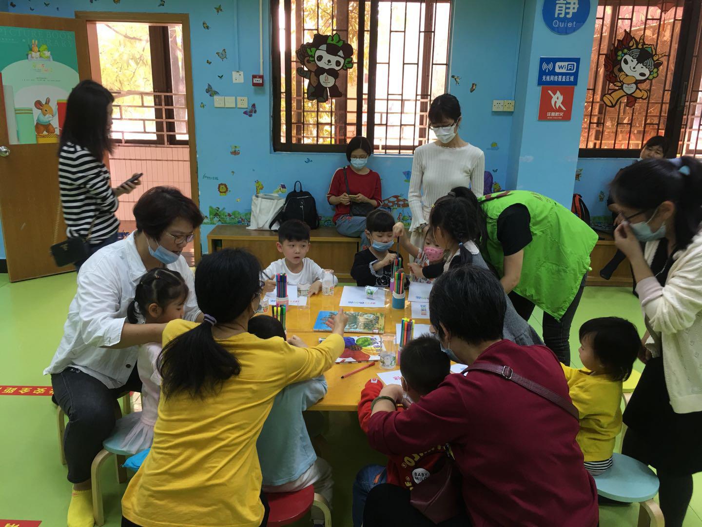 【小童课堂】《彩虹色的花》创意绘本分享活动回顾